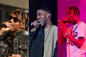 "Juice WRLD, Kid Cudi, & Travis Scott Heat Up Our ""Fire Emoji"" Playlist"