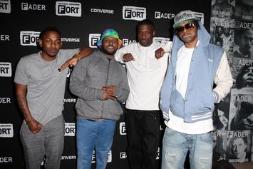 "Top Dawg Teases Black Hippy Fans With ""King Of The Hill"" Meme"