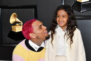 Chris Brown's Latest IG Post Of Royalty & Aeko Proves He's One Proud Papa