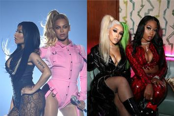 Nicki Minaj Shows Love To Megan Thee Stallion, Beyoncé, & Doja Cat Amid Chart Battle