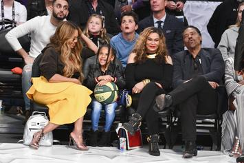 Blue Ivy Carter Makes An Adorable Demand In Tina Knowles' Video