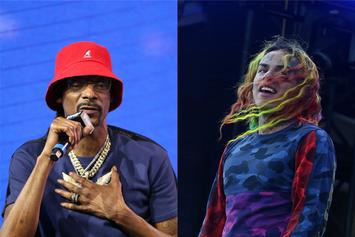 Snoop Dogg Officially Denies 6ix9ine's Snitch Claims