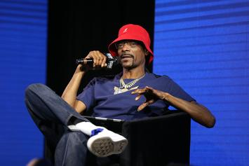 "Snoop Dogg Eases Stress With ""Frozen"" Song, Idina Menzel Responds"