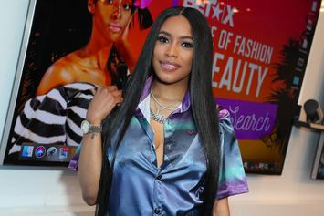 Meek Mill's GF Milan Harris Tricks Fans Into Thinking She & Meek Got Engaged