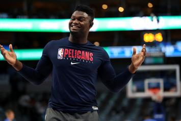 Zion Williamson Looks To Dodge Questions About Alleged Duke Benefits