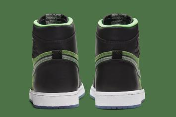 """Air Jordan 1 High Zoom """"Rage Green"""" Officially Revealed: Photos"""