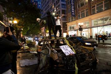 Man Drives Car Into Seattle Protest & Shoots One Demonstrator