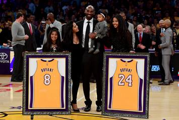 Kobe Bryant's Daughter Bianka Is Too Adorable As She Dances With Sister Natalia