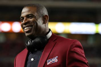 Deion Sanders Comments On Son's Workout With Tom Brady