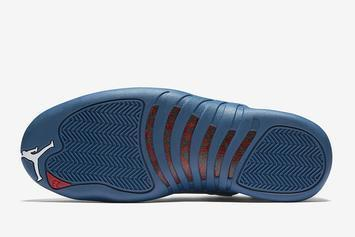 "Air Jordan 12 ""Stone Blue"" Drops Soon: Best Look Yet"