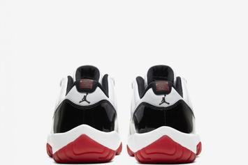 "Air Jordan 11 Low Concord ""Gym Red"" Drops Today: Purchase Links"