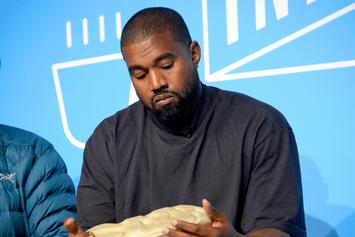 Kanye West Pens Heartfelt Message In Front Of Chicago GAP Store