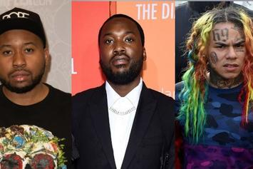 """6ix9ine & Akademiks Trash Meek Mill: """"You're Signed To A Cop & Managed By A Rat"""""""