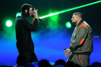 DJ Khaled Teases Drake Collab With Cryptic OVO Owl Graphic