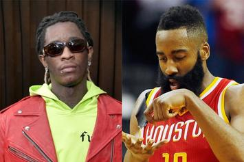 "Young Thug Defends James Harden Over ""Blue Lives Matter"" Face Mask Backlash"
