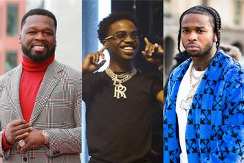 "50 Cent & Roddy Ricch To Drop ""The Woo"" Music Video On Pop Smoke's Birthday"
