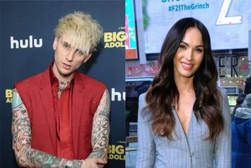 "Machine Gun Kelly Swoons Over Megan Fox: ""Waited For Eternity To Find You Again"""