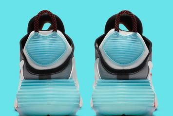 "Nike Air Max 2090 ""Bleached Aqua"" Drops Soon: Photos"
