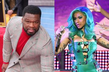 "50 Cent Loves Cardi B & Megan Thee Stallion In Their G-String Thongs: ""Sexiest Cover Ever"""