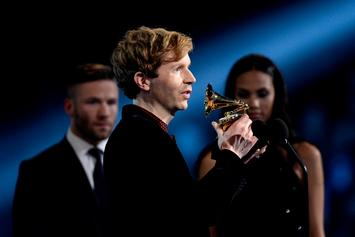 "Beck Reflects On 2015 Grammy Moment With Kanye West: ""He Was Disappointed"""