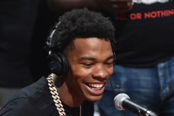 "Lil Baby Laughs At Meme Of Him As A Woman: ""Stop Playing With Me"""