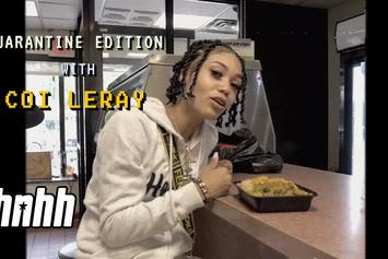 """Coi Leray Hits Up Her Favorite Jamaican Restaurant On """"Snack Review"""""""