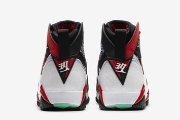"Air Jordan 7 ""Chile Red"" Release Date Revealed: Photos"