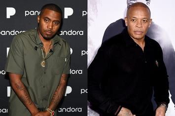 Nas & Dr. Dre Collaboration Previewed In Footage Of Studio Session