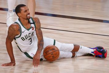 """George Hill Claims He Missed National Anthem To """"Take A Sh*t"""""""