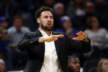 Steve Kerr Gives Update On Klay Thompson After First Practice