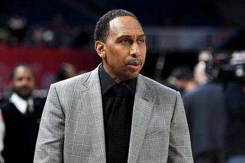 Stephen A. Smith Goes Off On LeBron Vs. MJ GOAT Debate