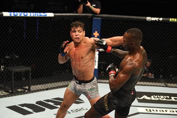 Paulo Costa Livid After Realizing Israel Adesanya Humped Him