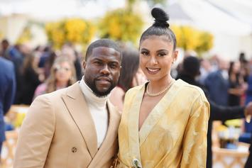 Kevin Hart & His Wife Eniko Welcome Daughter Kaori Mai