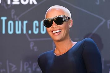 Amber Rose Goes Fully Nude To Promote OnlyFans