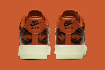 "Nike Air Force 1 Low ""Skeleton Orange"" Coming Soon: Photos"