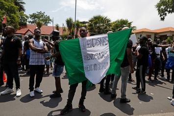 Nigerian Police Seen Shooting Protestor In Back: Report