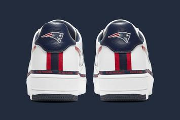 New England Patriots Get New Nike Air Force 1 Colorway