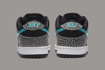 "Nike SB Dunk Low ""Elephant"" Brings The Atmos Vibes: Photos"