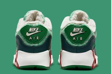 "Nike Air Max 90 Receives Festive ""Christmas"" Colorway: Photos"
