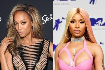 "Tyra Banks Praises Nicki Minaj While Dressed As Rapper: ""She's Amazing"""