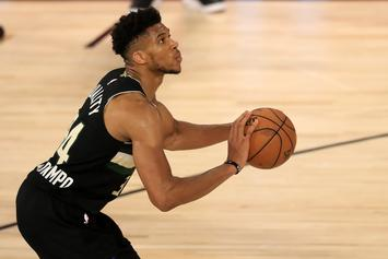 Giannis Antetokounmpo Offers Rare Glimpse Into Offseason Training