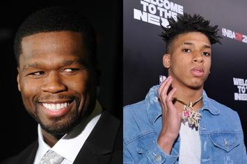 "50 Cent & NLE Choppa Connect On ""Raising Kanan"" Theme Song"