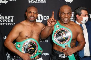 Mike Tyson Reveals He Was High During Roy Jones Jr. Fight