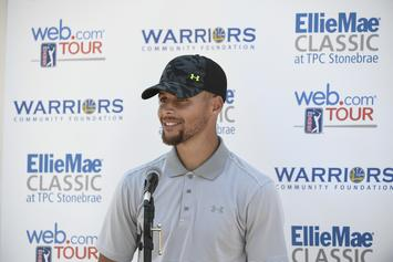 Steph Curry Reacts To Warriors' Second-Overall Pick