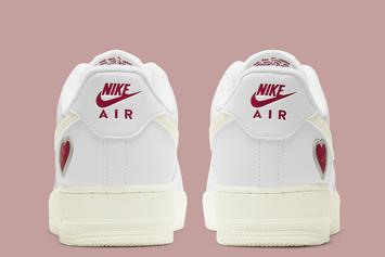 """Nike Air Force 1 Low """"Valentine's Day"""" Unveiled: Photos"""