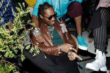 Future & Dess Dior Step Out In Matching Outfits