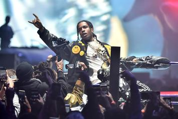"""A$AP Rocky Accidentally Shares """"Grim Freestyle"""""""
