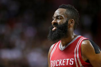"""James Harden Hurled Basketball At Teammate After """"Heated Exchange"""": Report"""