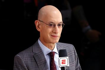 Adam Silver Sends A Warning To James Harden