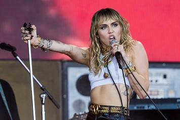 "Miley Cyrus Choses To Kiss Harry Styles Over Justin Bieber: ""I'm Into The Fishnets"""